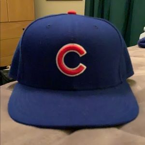 Chicago Cubs new era fitted baseball cap